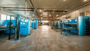 Metal sheet processing at Propulzija